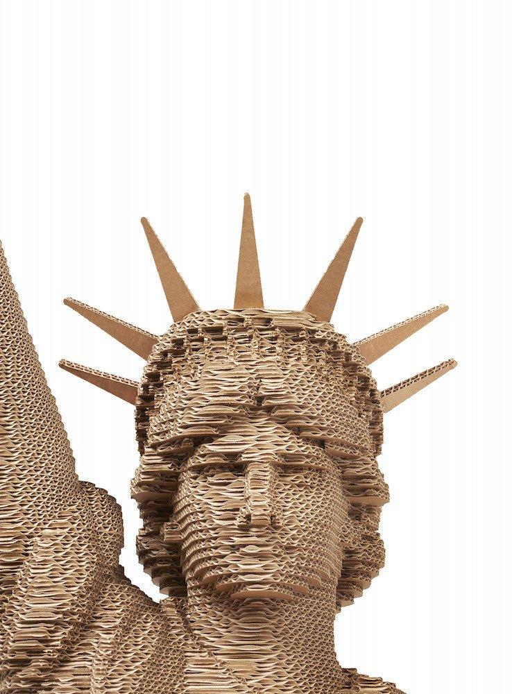 Statua della libert 3dmaxi riproduzione d arte for Riproduzioni design