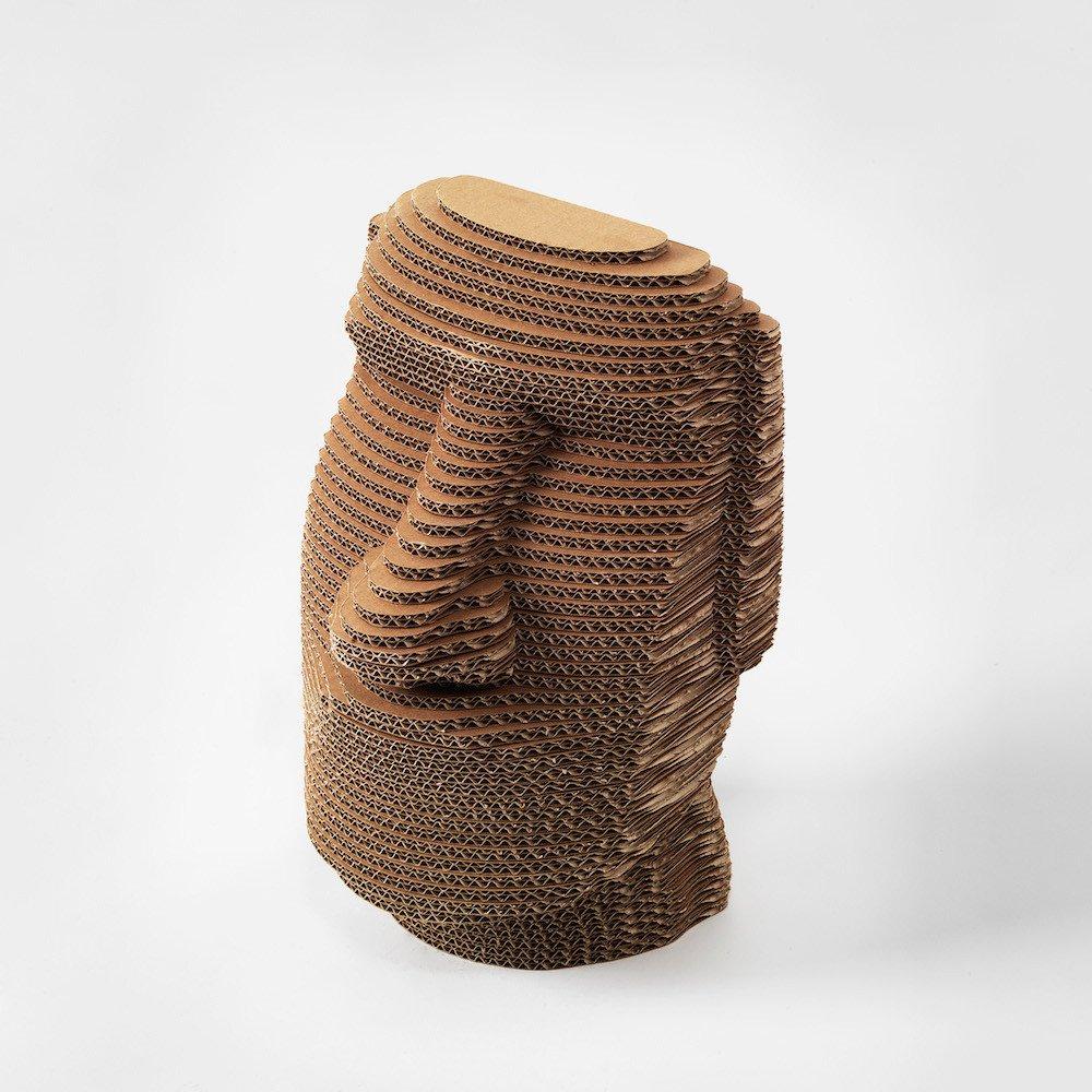 Moai isola di pasqua 3dmaxi riproduzione d arte for Riproduzioni mobili design