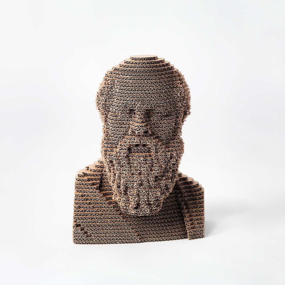 Busto socrate 3dmaxi riproduzione d arte nextmade shop for Riproduzioni design